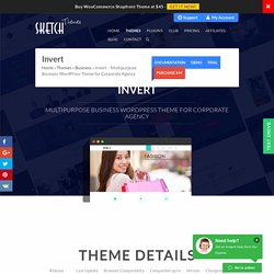 Invert Multipurpose Business WordPress Theme for Corporate Agency