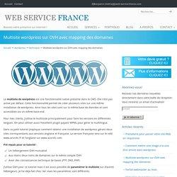 Multisite wordpress sur OVH avec mapping des domaines