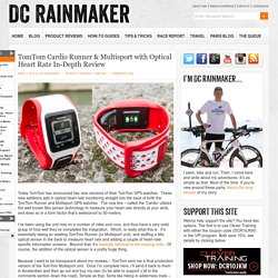 TomTom Cardio Runner & Multisport with Optical Heart Rate In-Depth Review