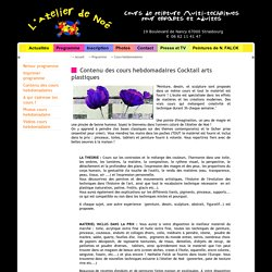 L'Atelier de Noé Ecole et Cours de peinture multitechniques pour enfants et adultes Strasbourg France