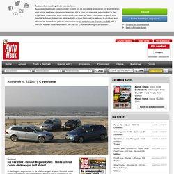 Multitest: Kia Cee'd SW - Renault Mégane Estate - Skoda Octavia Combi - Volkswagen Golf Variant