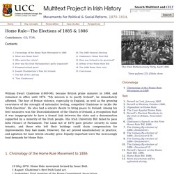 Home Rule—The Elections of 1885 & 1886