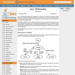 Multithreading Programming Tutorial