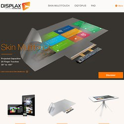 DISPLAX - Interactive Systems
