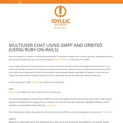 MultiUser Chat using XMPP and Orbited (Using Ruby-on-Rails)