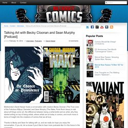 Multiversity Comics » Talking Art with Becky Cloonan and Sean Murphy [Podcast]