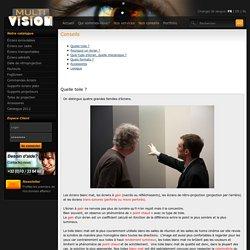 Multivisonscreens, conseil professionnel pour choix écrans - toiles de projection Wavre wallonie