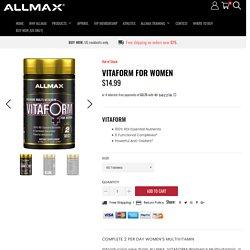Premium Multivitamin - Allmax Nutrition