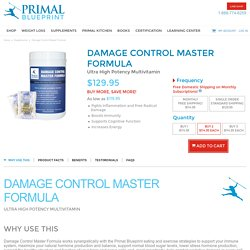 Damage Control Master Formula - Multivitamin Supplement