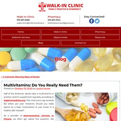 Multivitamins: Do You Really Need Them?
