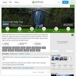 Multnomah Falls Trail - Oregon