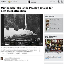 Multnomah Falls is the People's Choice for best local attraction