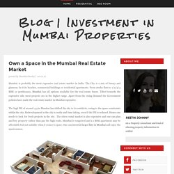 Own a Space in the Mumbai Real Estate Market