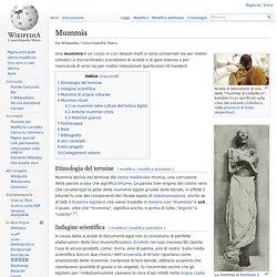 Mummia wikipedia