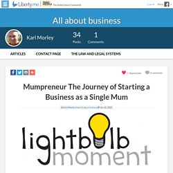 Mumpreneur The Journey of Starting a Business as a Single Mum