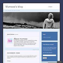 mumsee « Mumsee's blog