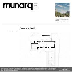 Munarq: Artist studio renovation, Can valls 2015