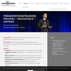 Präsentationstraining München - Stage Academy - DE