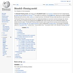 Mundell–Fleming model