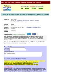 Cosco Mundial Football ~ Sabkifitness~com Madurai Buy Sell