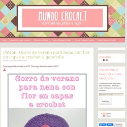 Mundo Crochet - Página 7 de 21 - El mejor blog para aprender crochet!