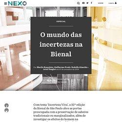 O mundo das incertezas na Bienal - Nexo Jornal