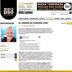 Editorial - EL SONIDO ES TAMBIÉN CINE