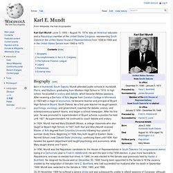 Karl Earl Mundt