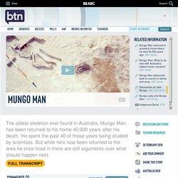 Mungo Man: 20/02/2018, Behind the News