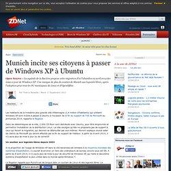Munich incite ses citoyens à passer de Windows XP à Ubuntu