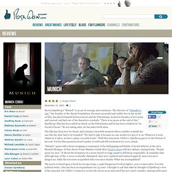 Munich Movie Review & Film Summary (2005)