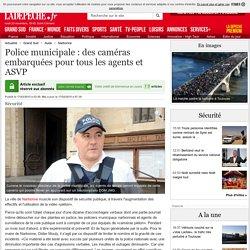 Police municipale : des caméras embarquées pour tous les agents et ASVP - 17/03/2015 - ladepeche.fr