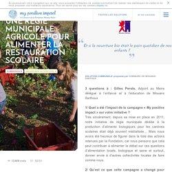 Une régie municipale agricole pour alimenter la restauration scolaire