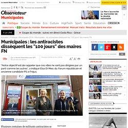 """Municipales : les antiracistes dissèquent les """"100 jours"""" des maires FN"""