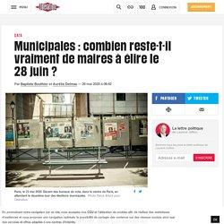 Municipales: combien reste-t-il vraiment de maires à élire le 28juin?