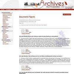 DIRECTION DES ARCHIVES MUNICIPALES DE TOULOUSE - Inventaire pour toutes les tables