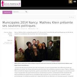 Mathieu Klein présente ses soutiens politiques