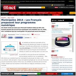 Municipales 2014 : Les Français proposent leur programme numérique