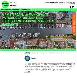 À Amsterdam, la municipalité partage gratuitement ses locaux et ses véhicules avec les habitants