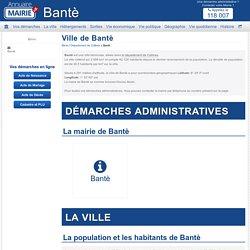 Ville de Bantè, la Municipalité de Bantè et tout son territoire, Collines en Bénin