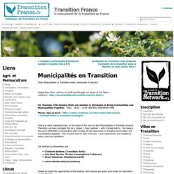 Municipalités en Transition « Transition France