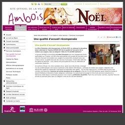 Amboise : Une qualité d'accueil récompensée