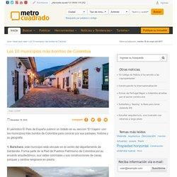 Los 10 municipios más bonitos de Colombia