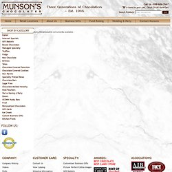 Munsons Chocolates