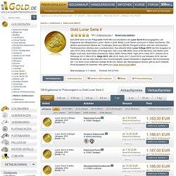 Lunar II Gold Münzen Ziege 2015 Pferd Schlange Drache kaufen