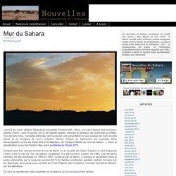 Nouvelles du Sahara