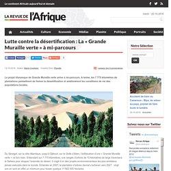 Le projet de Grande Muraille verte anti-désertification à mi-parcours : La Revue de l'Afrique