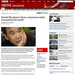 Haruki Murakami: How a Japanese writer conquered the world