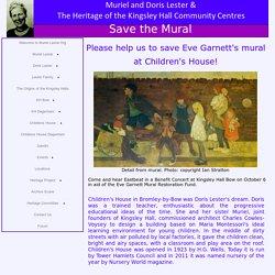 Eve Garnett mural
