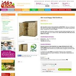 Idéa Bois Nicolas vous présente sa sélection d'abris de jardin et armoires murales certifiés PEFC. Liv